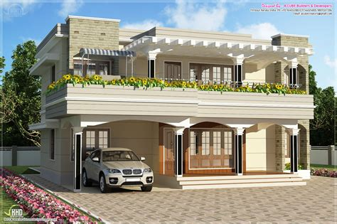 exceptional simple house building plans 4 flat roof house plans - House Building Plans
