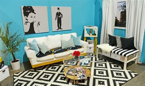 beste weiße wandfarbe schwarz wei blau wand wohnzimmer oliverbuckram