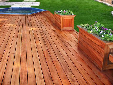 Wood Decking by Ipe Wood Decking Materials