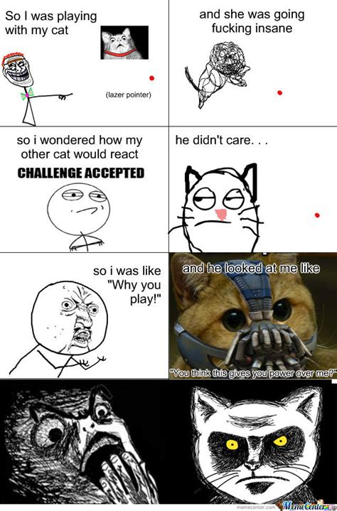 Laser Pointer Meme - he is invulnerable to the laser pointer by