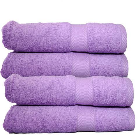 bath towels luxury 650 gram cotton bath towel lavender set of 2