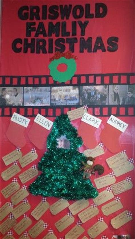 office door decorating christmas vacation themed film