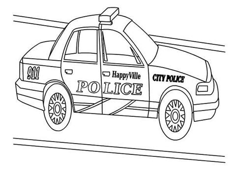police van coloring page 11 best images about community helpers on pinterest