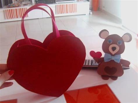 dulcero de corazon en fomi bbarte1blogspotcom bolsa de corazon de goma eva youtube
