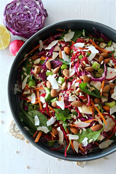 Spinach Detox Salad by Cabbage Spinach Beetroot Detox Salad Berry Sweet