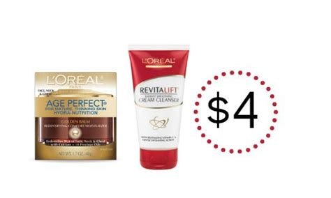 Skin Care L Oreal l oreal skin care coupons as low as 4 southern savers