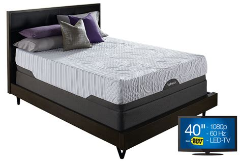 icomfort bed icomfort 174 prodigy with everfeel twin xl mattress at