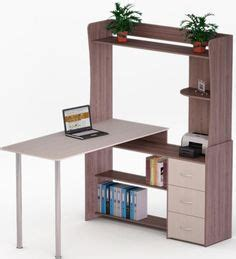 illustra desk with hutch illustra transitional engineered wood computer desk with