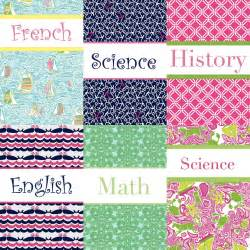 preppy binders diy preppy binder covers