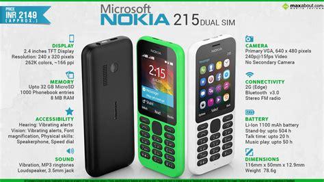 Microsoft Nokia 215 facts microsoft nokia 215 dual sim