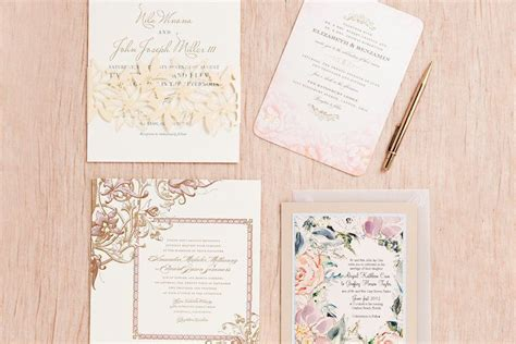 Stationary For Wedding Invitations