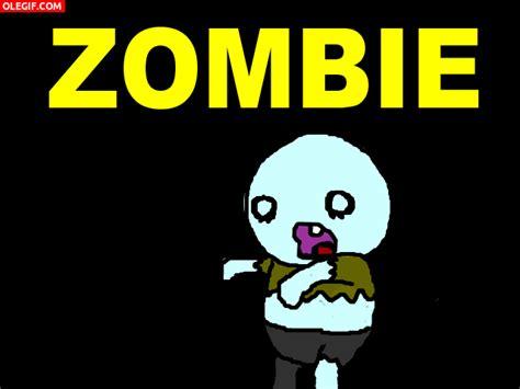 imagenes zombies graciosos gif a este zombie le queda un solo diente gif 2076