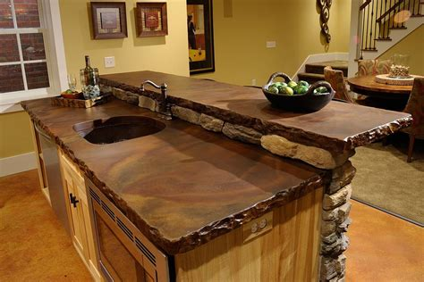 Countertop Pros And Cons by The Pros And Cons Of Concrete Countertops Interior Design