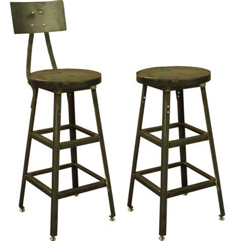 heavy duty steel metal bar stool with chrome frame black swivel seat ebay stools pollard brothers mfg