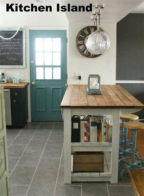 Ideas For Kitchen Islands With Seating cocinas con islas a partir de muebles reciclados cocinas