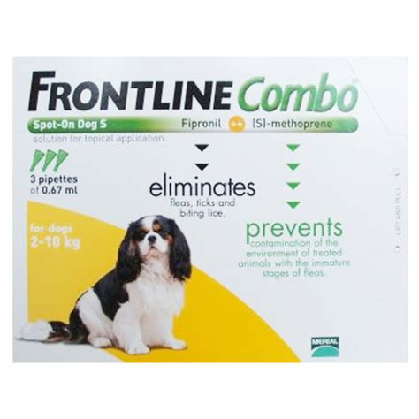 frontline plus for dogs frontline combo for dogs frontline combo spot on flea tick treatment