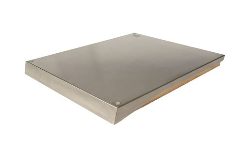 stainless steel cutting board stainless steel hood for indoor with cutting board the