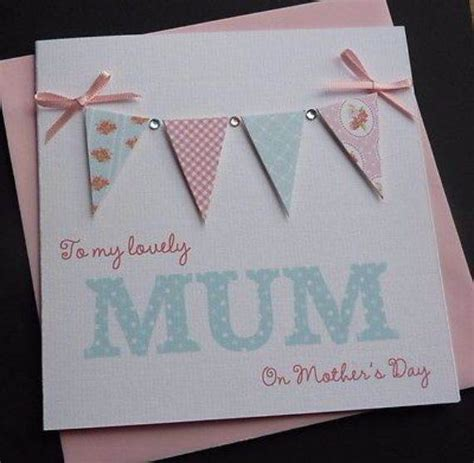 handmade mothers day cards mother s day hand made craft gift ideas for your