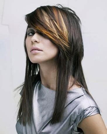 pics of different tones of highlights bangs only 17 best images about silver streak on pinterest chunky