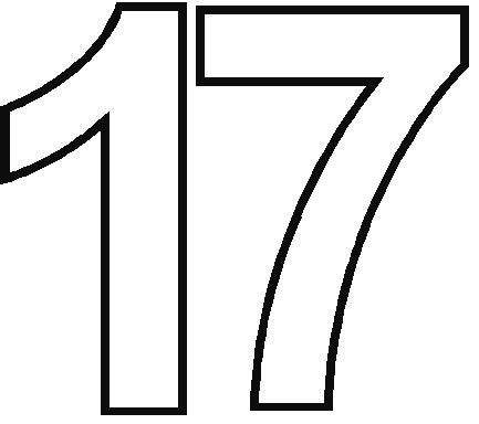 Best 28 17 Best Images About Printables 17 Best Ideas - best photos of printable number 17 number 17 coloring