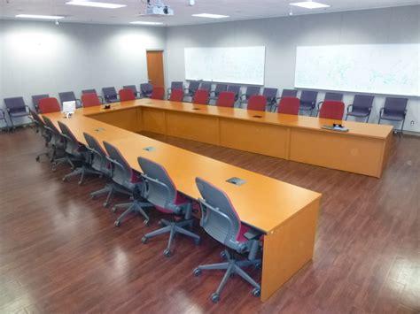 Custom U by Primeway Custom U Shaped Conference Table 1