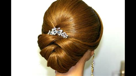 wedding hairstyle for medium hair bridal updo
