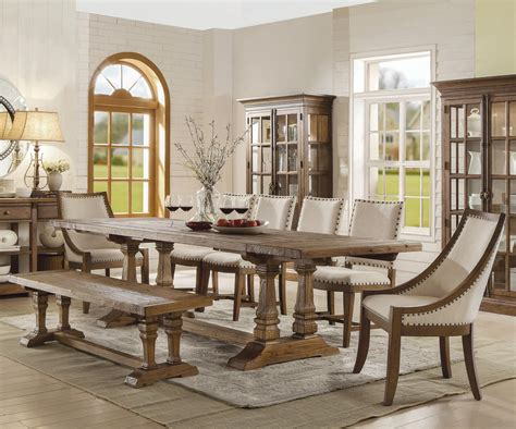 riverside table and chairs riverside furniture hawthorne 8 table and chair set