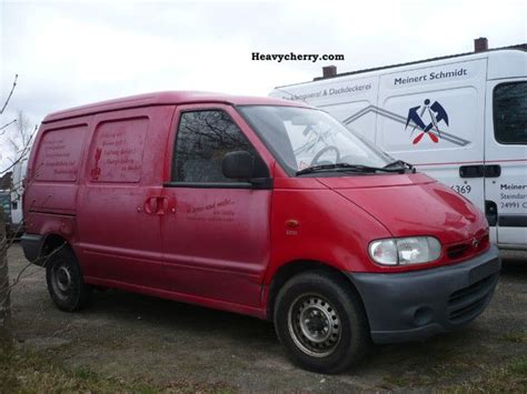 nissan cherry vanette nissan vanette cargo 2 3 d 1998 box type delivery