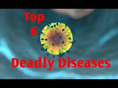 W Deadly Disorders by Top 6 Most Deadly Diseases