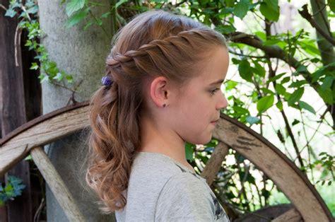 Konfirmations Frisur F 252 R Meine Schwester Haare Ideen