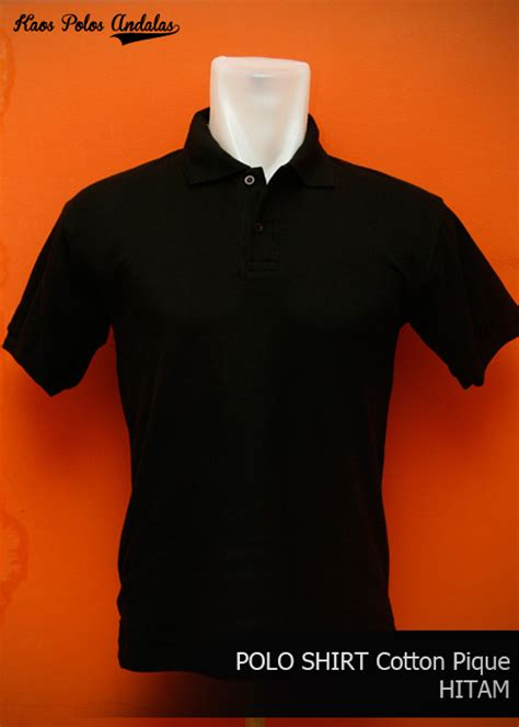 Polo Shirt Polos Kaos Polos Pique Cotton Pique polo shirt polos bahan cotton pique siap bordir grosir