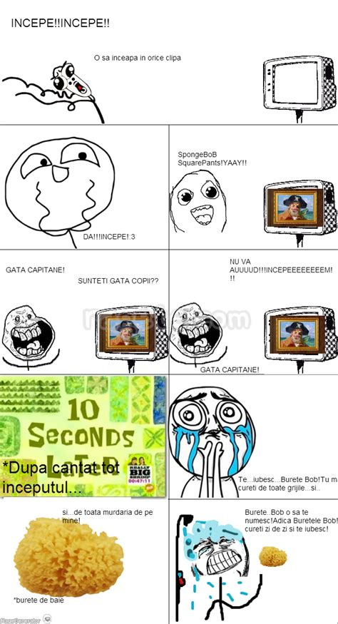 Meme Comic Spongebob - spongebob rage comics