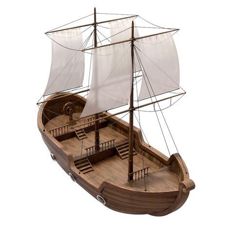 cartoon boat 3d model cartoon pirate ship 3d model