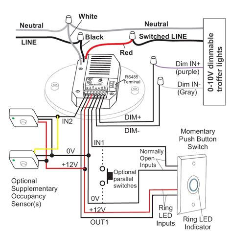 wiring diagram for daylight switch all in one lighting controllers daylight harvesting
