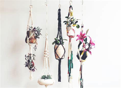 Diy Macrame Plant Holder - diy macrame plant hangers macrame plant hanger diy