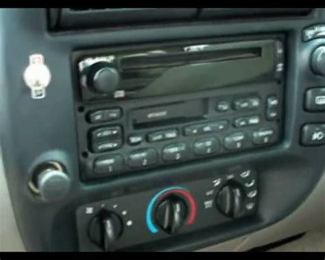 ford explorer audio system youtube