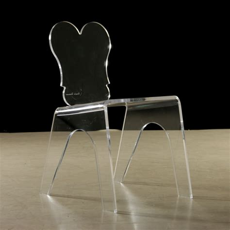 sedia plexiglass sedie in plexiglass anni 80 sedie modernariato