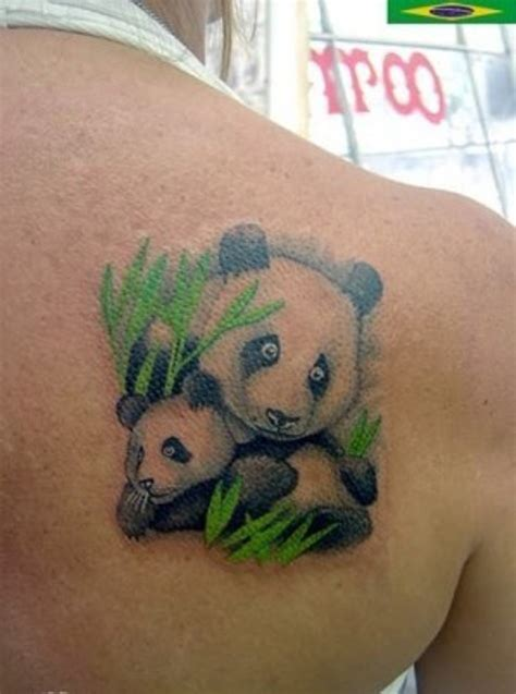 panda express tattoo policy picture of unique mother panda and baby panda tattoo