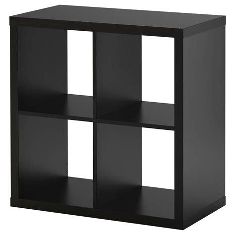 storage units ikea kallax shelving unit black brown 77x77 cm ikea