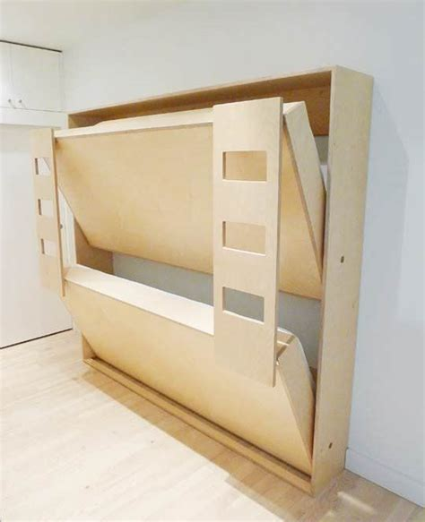 how to build bunk beds diy murphy beds decorating your small space
