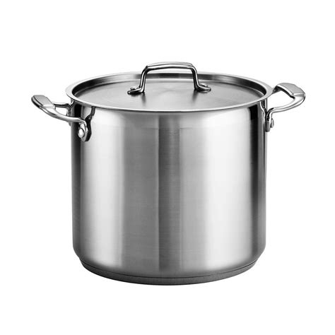Of Steel 12 tramontina gourmet 18 10 stainless steel 12 quart covered