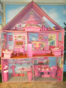 Barbie size barbie size calego traditional furnished doll house with