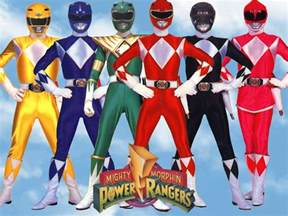 the rangers mighty morphin power rangers photo 23879058