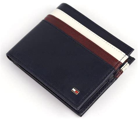 Card Holder Navy Murah 24 Slot new hilfiger s leather billfold id wallet navy 31tl130014 ebay