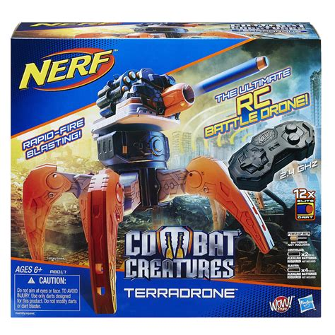 nerf drone nerf combat creature terradrone nerf project