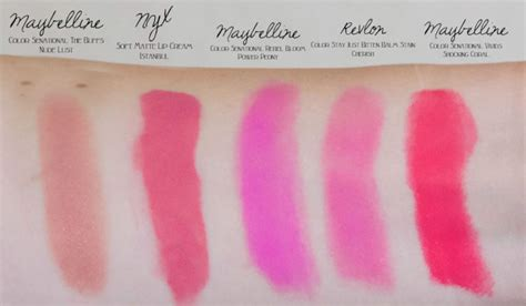 drug store coral colors best drugstore lipsticks for spring and summer