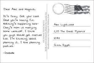 read write think postcard template clare shares postcard story tmi source