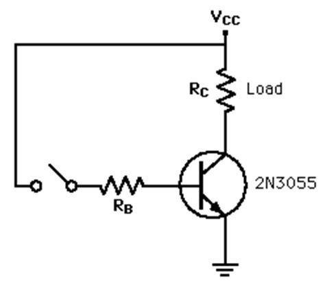 transistor npn como switch transistor switches