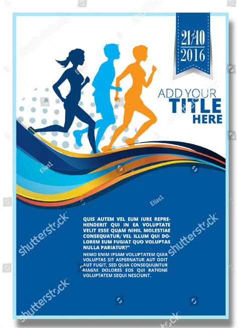25 Marathon Flyer Templates Free Premium Download Color Run Flyer Template