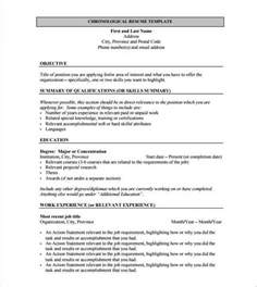 Resume Template for Fresher   10  Free Word, Excel, PDF